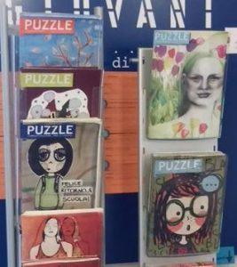 Puoi sempre richiedere una copia di Puzzle all'InformaGiovani del Comune di Pesaro